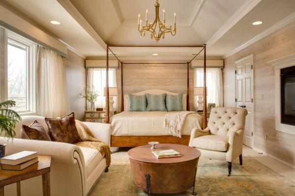 nobilis' faux bois – lavish master bedroom exuding modern luxury and elegance