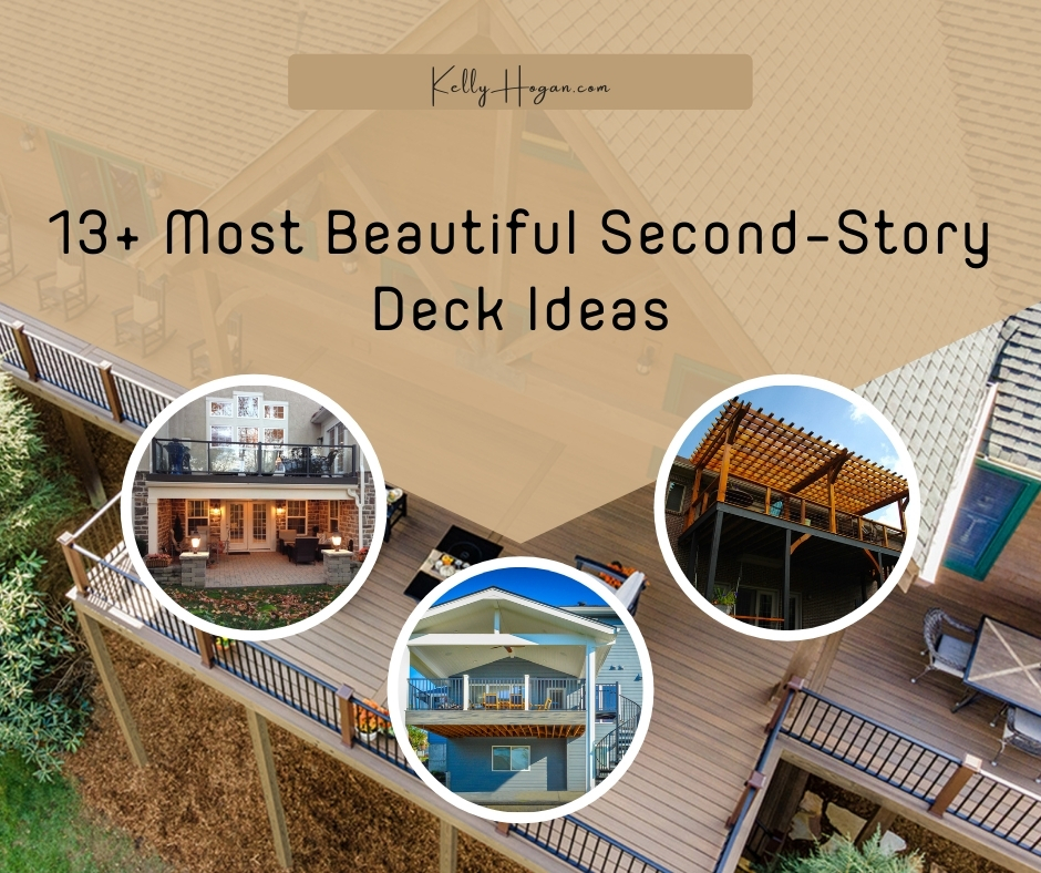 13  Most Beautiful Second Story Deck Ideas